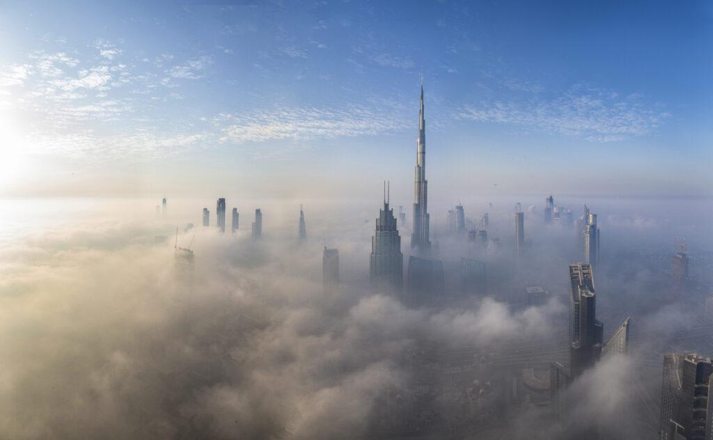 מסעדת דובאי בעננים